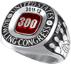 300 Game Ring  Grand Large Siladium (Adult and Youth)