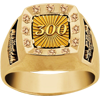 300 Sport Bowling Game - 10K or 14K Gold Upgrade Ring. Available for purchase in Large (sizes 7-18) and Small (sizes 3-15)