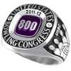 800 Series Ring Grand Small Siladium (Adult and Youth)