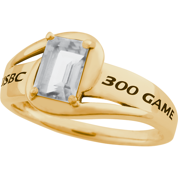 300 Game Ring Ladies Sovereign 10K Gold (Adult Purchasable Upgrade)