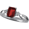 300 Game Ladies Premier Ring with Lab-created Ruby (Purchasable Upgrade for Adults and Youth). The Lab-created Ruby may also be added to the 10K and 14K gold ring upgrades.