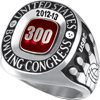 300 Game Grand Siladium Ring (Adult). Available in Large (sizes 7-18) or Small (sizes 3-15)