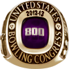 800 Series Ring Grand 10K Gold (Adult Purchasable Upgrade).  Available in Large (sizes 7-18) or Small (sizes 3-15).