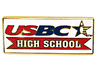 USBC High School Bowling Lapel Pin